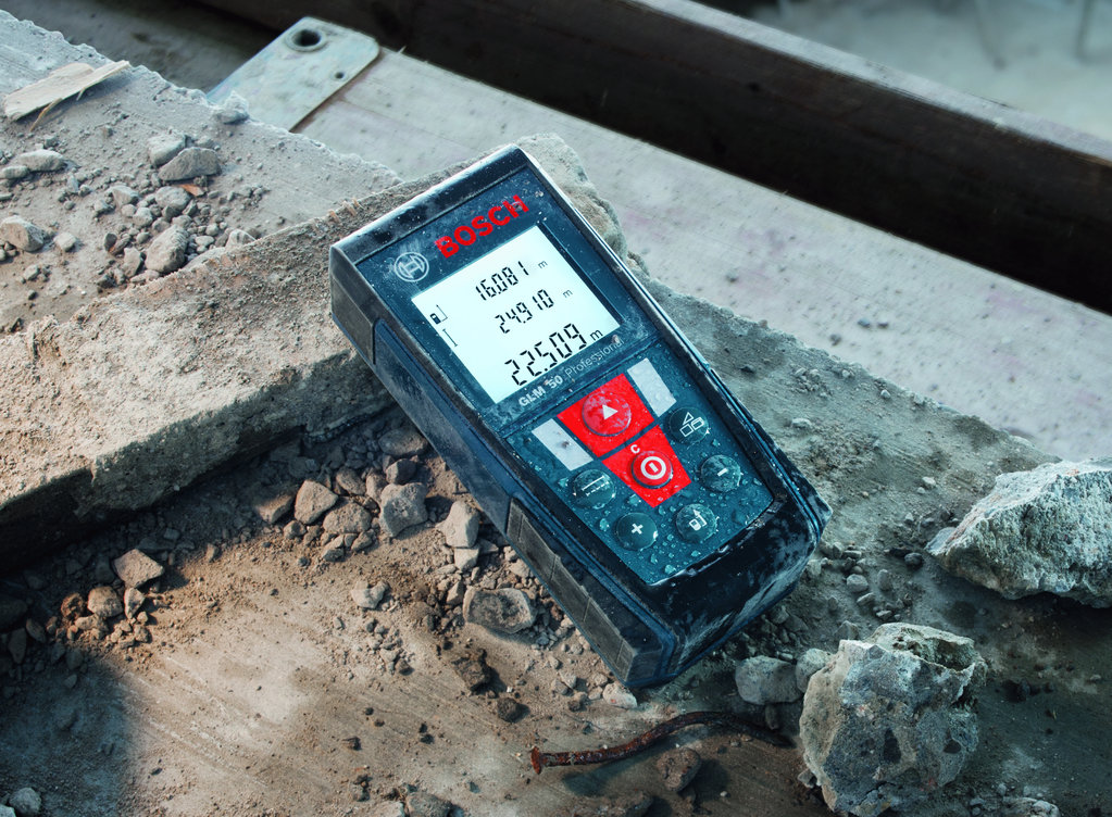 Bosch glm 50 laser entfernungsmesser