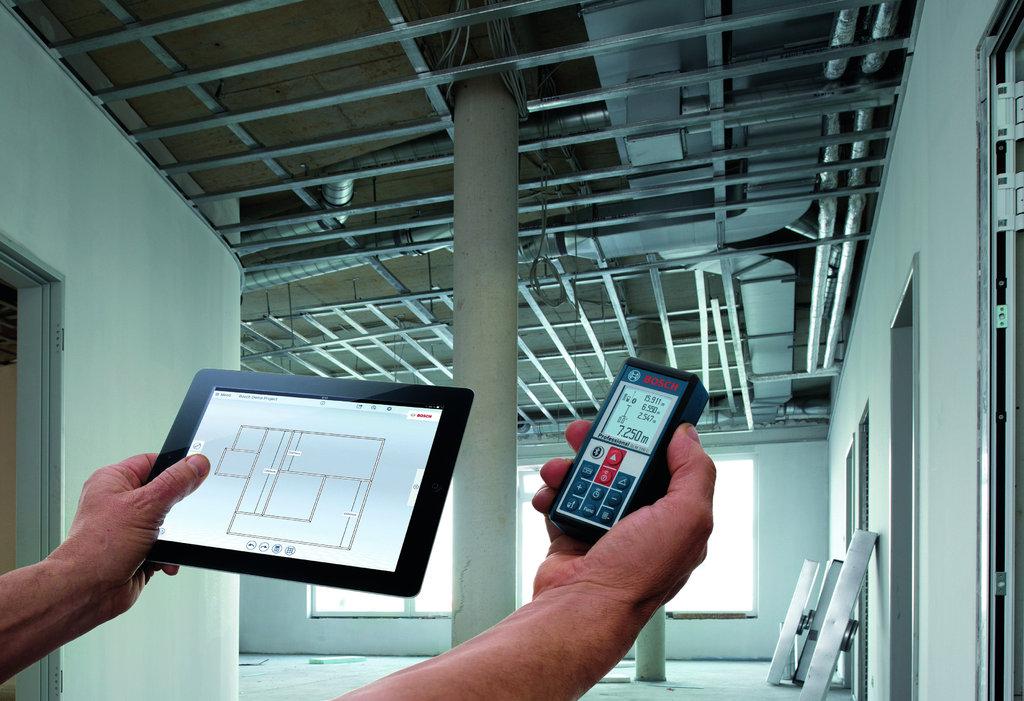 Bosch Entfernungsmesser Software : Bosch glm c laser entfernungsmesser